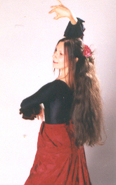 spaanse dans flamenco feest